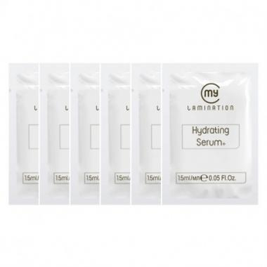 Набор составов №3 Hydrating Serum+ My Lamination для ламинирования ресниц в саше 6 шт по 1,5 мл