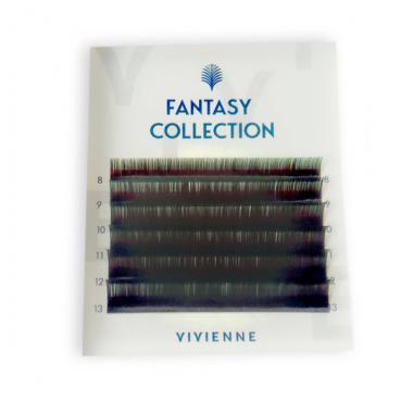 Ресницы черно-зеленые FANTASY Collection