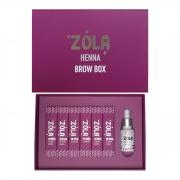 Хна Бокс ZOLA  (Henna Box) 6 шт по 10 гр