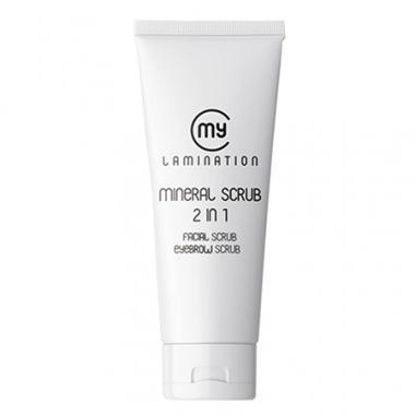 Скраб Mineral Scrub 2в1 My Lamination минеральный(75мл)