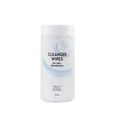 Салфетки Cleanser HENNA SPA 100 шт.