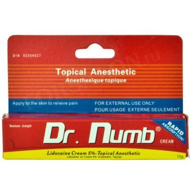 Крем анестетик Dr. Numb (10мл.)