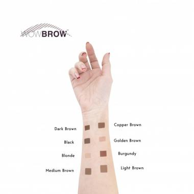 Хна для бровей Copper Brown WOWBROW