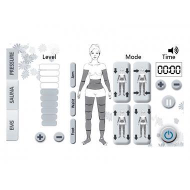 Аппарат 3-в-1 Body Shape Expert мод. 8108F для коррекции фигуры, УЦЕНКА -35%!