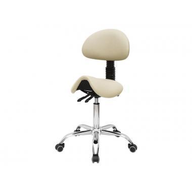 Стул-седло для мастера модель 1037-3 (2 регулировки)