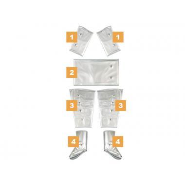 ШТАНИНА (левая) для прессотерапии мод.9102 / мод. 9102 ES Beauty Service™