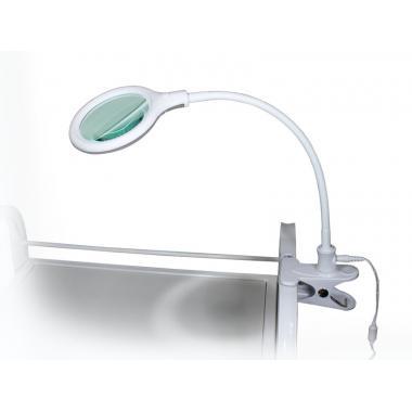 Лампа-лупа настольная мод. 2014 LED 3D