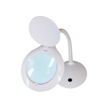 Лампа-лупа настольная мод. 9101-А LED, увеличение 3 диопт.