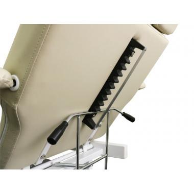 Кушетка педикюрная мод.235 с гидравлической регулировкой высоты
