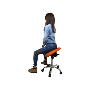 Стул-седло для мастера модель 4008 с разделенным сидением
