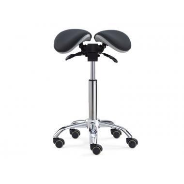 Стул-седло для мастера модель 6025 с разделенным сидением