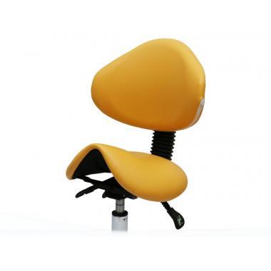 Стул-седло для мастера модель 854 со спинкой