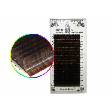 Ресницы колорированные Lovely №10 - 20 линий (MIX)