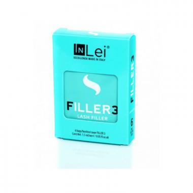 """Набор составов  In Lei """"Filler 3"""" в саше 6 шт для ламинирования ресниц"""