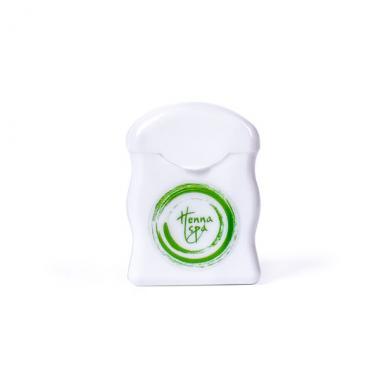 Белая разметочная нить с гипоаллергенным пигментом, HENNA SPA