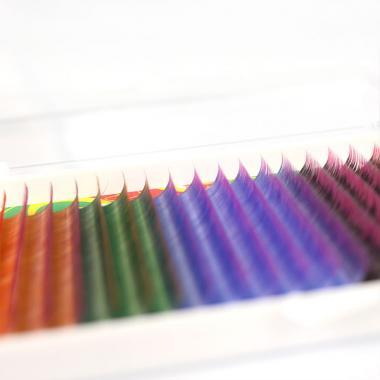 Ресницы Vivienne Fantasy Collection Микс двухцветных ресниц