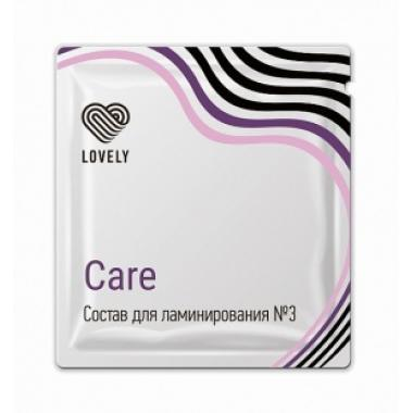 Состав №3 Lovely Care для ламинирования в саше, 1г
