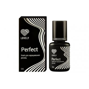 """Клей Lovely """"Perfect"""" чёрный, 10мл"""
