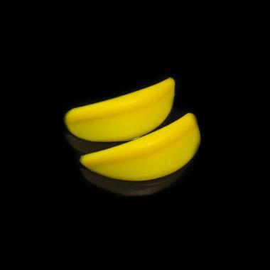 Бигуди силиконовые желтые