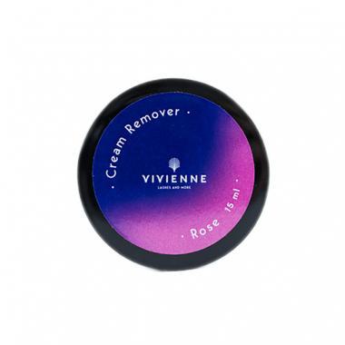 Ремувер Vivienne кремовый розовый 15 ml