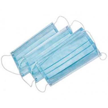 Защитная медицинская маска, трехслойная, 1 шт.